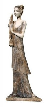 heilige-barbara-skulptur-keramik-moderne-kunst