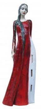 heilige-barbara-skulptur-keramik-rot