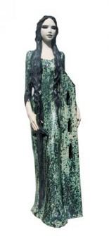 st-barbara-figur-grün-glasiert