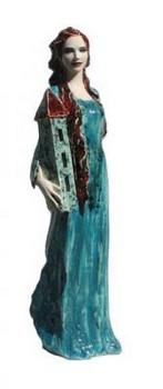 st-barbara-figur-keramik-grün