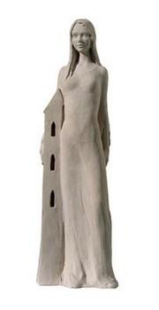 st-barbara-statue-keramik-ungebrannt