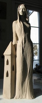 st-barbara-statue-ungebrannt-modell