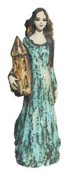hl-barbara-figur-keramik-grün-mit-turm
