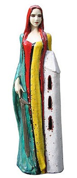 hl-barbara-skulptur-keramik-dreifarbig