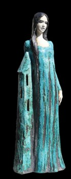 hl-barbara-skulptur-keramik-grün
