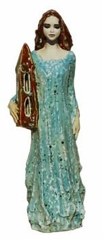 hl-barbara-skulptur-keramik-mit-turm-türkis