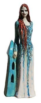 hl-barbara-skulptur-keramik-türkis