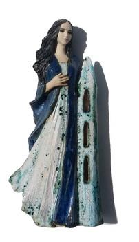 heilige-barbara-blaue-figur-aus-keramik