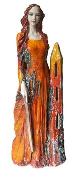 heilige-barbara-keramik-figur-für-gleinalm-tunnel