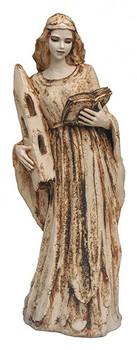 heilige-barbara-statue-mit-tuch-und-turm